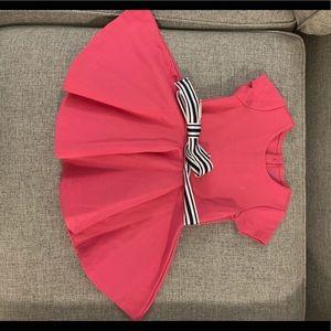 Ralph Lauren hot pink dress with belt